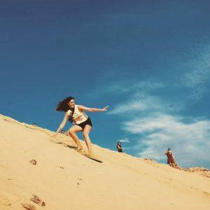 Đồi cát Phương Mai – trải nghiệm trượt cát thú vị
