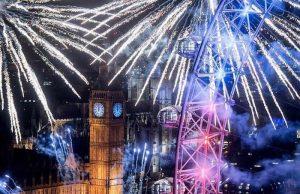 Khoảnh khắc đón năm mới ở châu Âu.