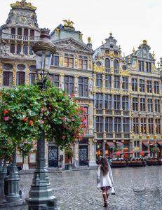 Brussels, địa điểm đón năm mới của nước Bỉ.