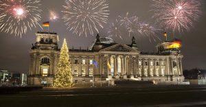 Khoảnh khắc năm mới tại Brussels.
