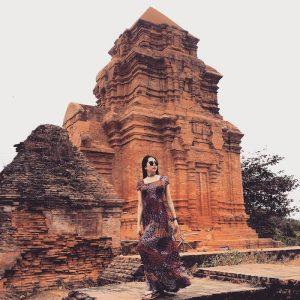 Tháp chính là ngôi đền linh thiêng thờ thần Shiva - vị thần được người Chăm Pa tôn sùng.