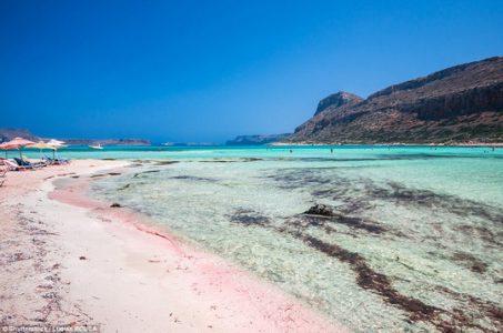 Bãi biển Balos Lagoon – Crete, Hy Lạp