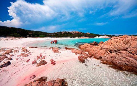 Bãi biển Spiaggia Rosa