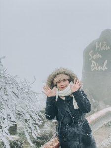Đỉnh Mẫu Sơn với độ cao gần 1000m so với mực nước biển