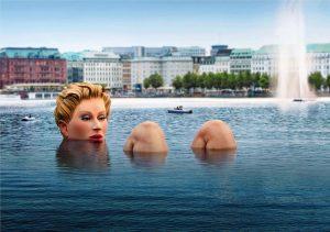 The Bather, công trình ấn tượng ở Đức.