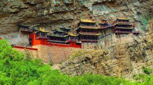 Đền Treo ở Trung Quốc còn được biết đến với cái tên Huyền Không tự.
