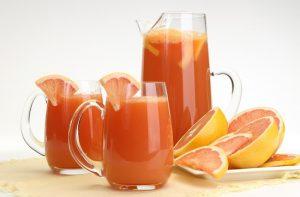 sinh tố bưởi cam