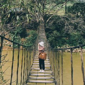 Check-in cây cầu hot ở Sapa